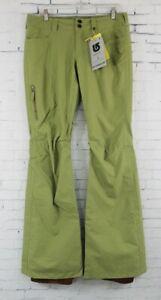Burton Womens TWC Sundown Snowboard Pants Small Algae