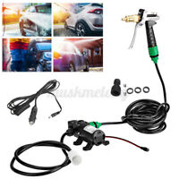 DC 12V Self-Priming Washer Water Pump Car Electric Washer Tool Kit High Pressure