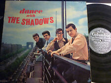 THE SHADOWS Dance with French LP COLUMBIA FPX 265