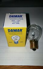 Bulb for DAMAR 0210C, 210C LAMP 120VOLTS 40WATTS
