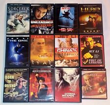 Once Upon A Time In China, The One, Hero, Unleashed.Jet Li 12 Dvd Lot