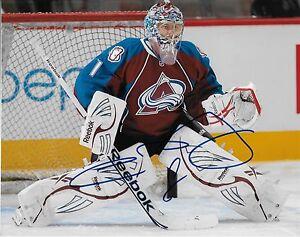 Autographed Colorado Avalanche Semyon Varlamov 8x10 Photo Original