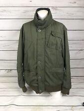 G Star Raw Originals 3301 Green Heavy style Jacket Coat Winter | Size XXL | A8