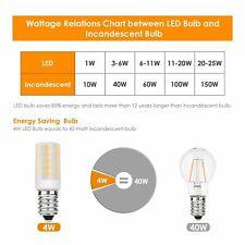 Hotpoint Fridge Freezer LED 5W 75% Energy Saving Light Bulb Equivalent 40W