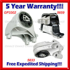 M499 Fit 12-15 Chevrolet Captiva Sport 2.4L AUTO, Engine Motor & Trans Mount Set