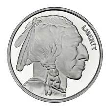 1 Oz Silver Buffalo Round .999 Fine Please read shipping info b4 buying