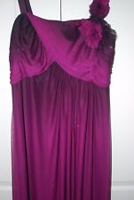 XSCAPE by Joanna Chen $279 Embellished Sparkling Purple Evening Wedding Gown 14W