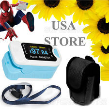USA store OLED Finger Pulse Oximeter SPO2 PR Heart Rate Monitor FDA CE CMS50NA