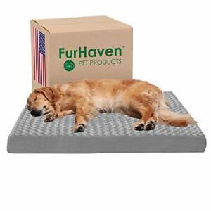 Big Comfort Extra Large Dog Washable Cover Orthopedic Foam Bed XXL Jumbo Size