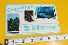 Billabong Greetings From Post Card Surfboards Vintage Surfing Decal STICKER