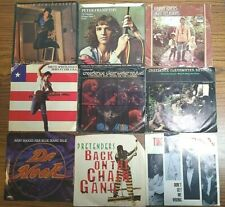 New Listing1980's Rock/Pop 45 Rpm Vinyl Rec Lot Bruce Springsteen Ccr Pretenders & More R7