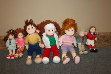 """LOT Ty  Beanie Boppers Collection Beanie Baby 13"""" & 9"""" dolls w/ Tags"""
