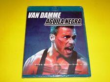 AGUILA NEGRA / BLACK EAGLE - Van Damme - English/Español Bluray disc -Precintada