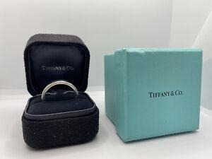 Men's Tiffany & Co. Solid Platinum Wedding Band 6mm Size 12