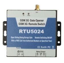 New Version RTU5024 3G GSM Gate Opener Relay Remote Wireless Door Control