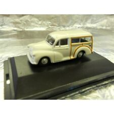 ** Oxford Diecast 76MMT001 Morris Minor Traveller Old English White 1:76 Scale