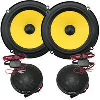 "JL Audio C1-650 6-1/2"" C1 Series 2-Way Component Car Audio Speakers Comp NEW"