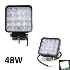 1X 48W LED LUCE FARO LAMPADA DA LAVORO FARETTO AUTO BARCA CAMION KLW SUV 12V 24V