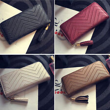 Fashion Women's Leather Card Holder Wallet Clutch Purse Lady Long Handbag best