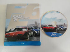 FAST & FURIOUS 6 - BLU-RAY STEELBOOK +EXTRAS ESPAÑOL ENGLISH VIN DIESEL THE ROCK