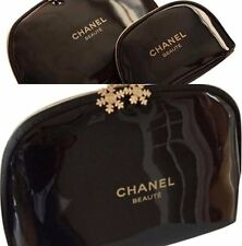 CHANEL VIP Snowflake Makeup Bag GIFT 3pcs/set New (unboxed)🎀
