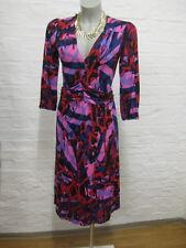 ORWELL schönes Kleid Gr.34-XS Bunt Muster &  Stretchkleid & 3/4Arm