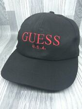 VINTAGE  GUESS  USA SNAPBACK CAP HAT EMBROIDERY ASAP ROCKY HIP HOP