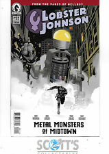 LOBSTER JOHNSON METAL MONSTERS OF MIDTOWN   #1  NM  NEW  (BAGGED & BOARDED)