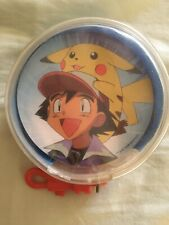 Pokemon Circular Round Playing Cards With Zipper Case (1999)