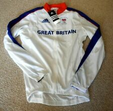 Team GB Great Britain Adidas LS cycling jersey M 2008 Olympics M Team issue NEW