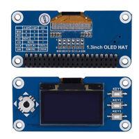 128x64 1.3inch 3.3V LCD OLED Display HAT SPI for Raspberry Pi 2B/3B/Zero/Zero W