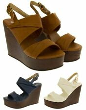 """Wedge Very High (greater than 4.5\) Casual Women's Heels"""""""