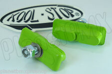 GREEN Kool Stop CONTINENTAL brake BMX pads for mag wheels Skyway Tuff ACS new *