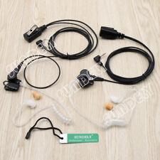 2x Motorola 1Pin Acoustic Tube Earpiece Headset Mic T5710 T5720 T5725 T5800 Fast