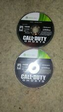 Xbox 360 game CALL of DUTY GHOST cds