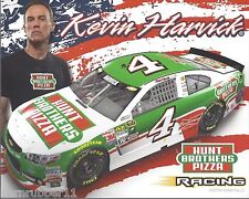 "2015 KEVIN HARVICK ""HUNT BROTHERS PIZZA "" #4 NASCAR SPRINT CUP POSTCARD"