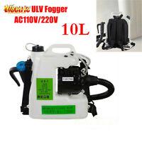 10L/12L Electric Backpack ULV Sprayer Fogger Cold Fogging Machine Disinfection