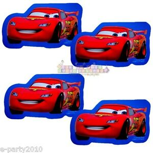 CARS NOTE PADS (4) ~ Birthday Party Supplies Favors Stationery Lightning McQueen