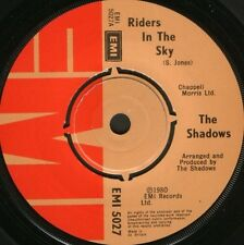 """SHADOWS riders in the sky  rusk 7"""" WS EX/ uk EMI 5027"""