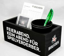 Holsten Pilsener, Spieleset, Würfelset in Box, Kniffel, yatzee, Feierabendbox