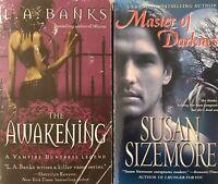 Vampire (2pb)  AWAKENING by L.A. Banks AND MASTER of AWAKENING Susan Sizemore