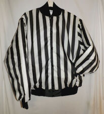 """Cliff Keen Athletic Black & White Striped Referee Jacket Size XL 59"""" Chest EUC"""