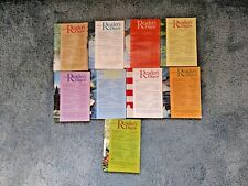 Readers Digest Magazine 1976 Year Set Lot 9 Soft Cover January - September