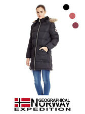 Giubbotto Lungo Donna GEOGRAPHICAL NORWAY CANELLE LADY (3 varianti)