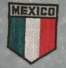 "New listing Mexico Flag Patch - travel souvenir - 3"" x 3 5/8"""