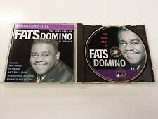 FATS DOMINO BLUEBERRY HILL - THE VERY BEST IN CONCERT CD 1997