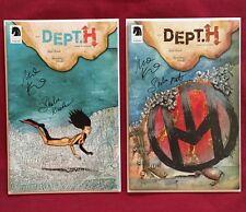 Dept. H #4, #6 SIGNED By Matt Kindt and Sharlene Kindt