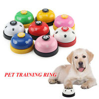 Novelty Footprint Pattern Pet Toy Training Called Dinner Bell Dog Training Ring^