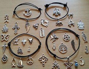 Ankle Bracelet - Black Leather Adjustable Bracelet, Anklet, Boho, Surf, Beach