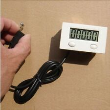 Digital 5 Digit LCD Punch Counter with Reset & pause Button with micro switch